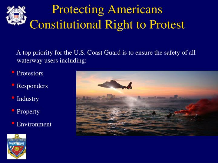 Protecting Americans Constitutional Right to Protest