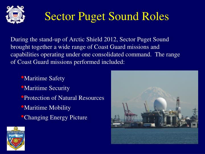 Sector Puget Sound Roles