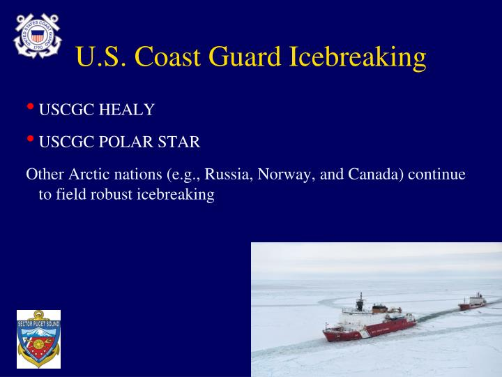 U.S. Coast Guard Icebreaking