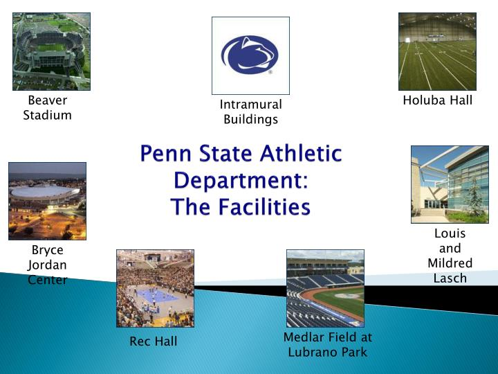 Penn state athletic department the facilities