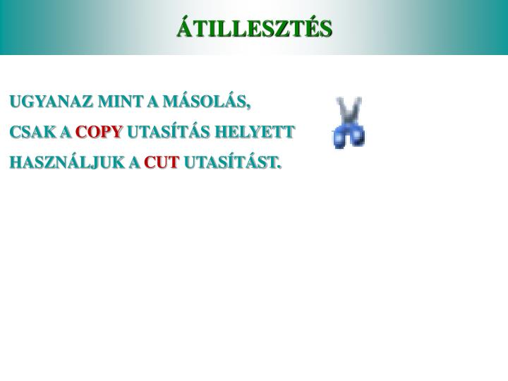 ÁTILLESZTÉS