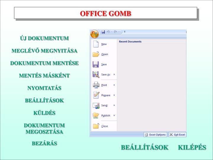OFFICE GOMB