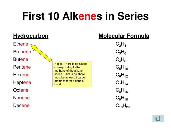 First 10 Alk