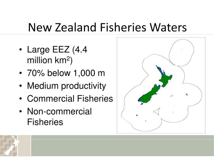 New zealand fisheries waters