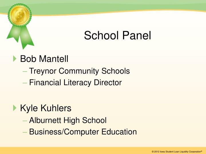School Panel