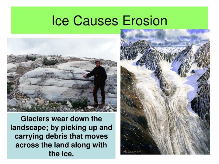Ice Causes Erosion