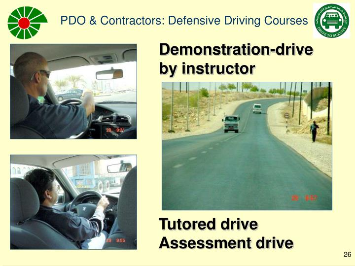 Demonstration-drive