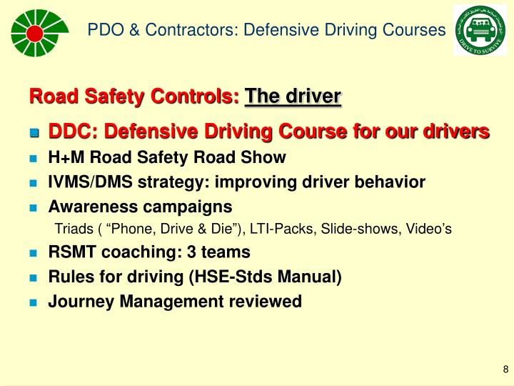 Road Safety Controls: