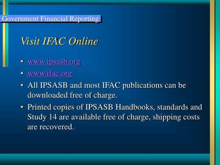 Visit IFAC Online