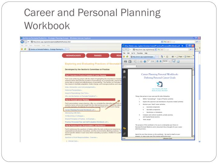 Career and Personal Planning Workbook