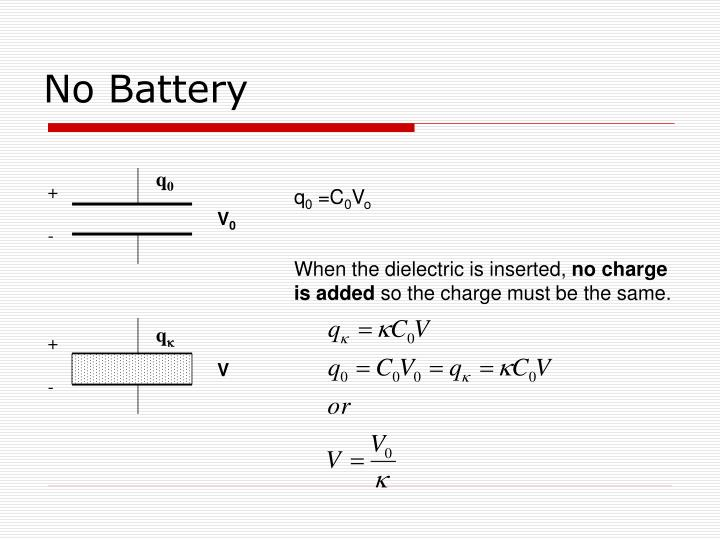 No Battery