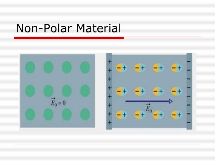 Non-Polar Material