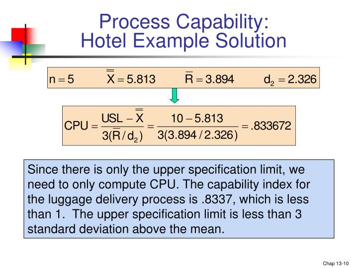 Process Capability: