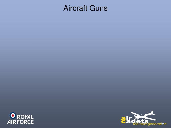 Aircraft Guns