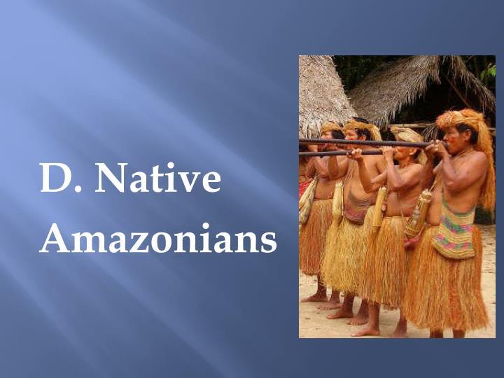 D. Native