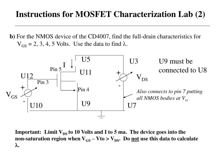 Instructions for MOSFET Characterization Lab (2)