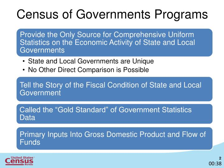 Census of governments programs