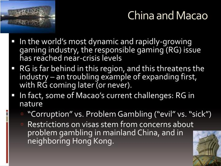 China and Macao
