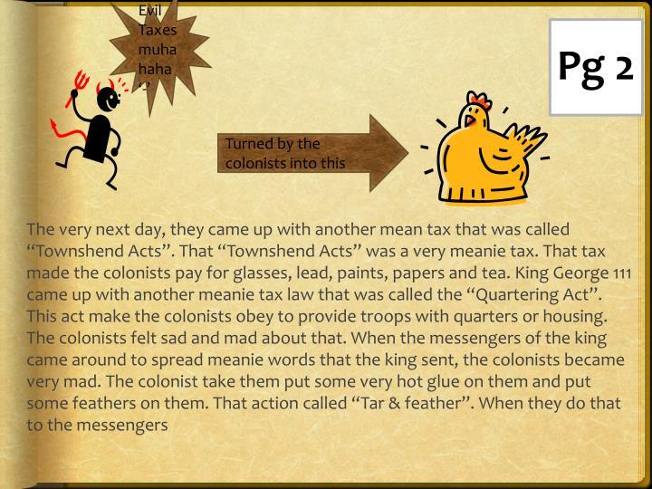 Evil Taxes