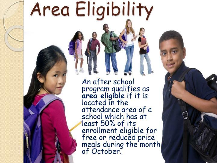 Area Eligibility