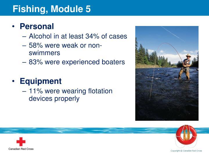 Fishing, Module 5