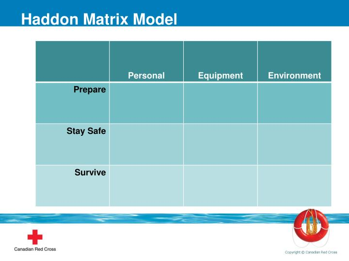 Haddon Matrix Model