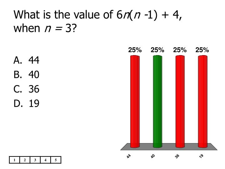 What is the value of 6