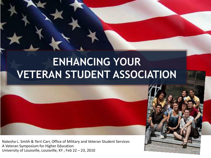 Enhancing your veteran student association