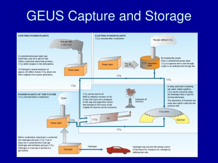 GEUS Capture and Storage