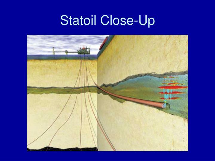 Statoil Close-Up