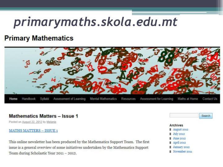 primarymaths.skola.edu.mt