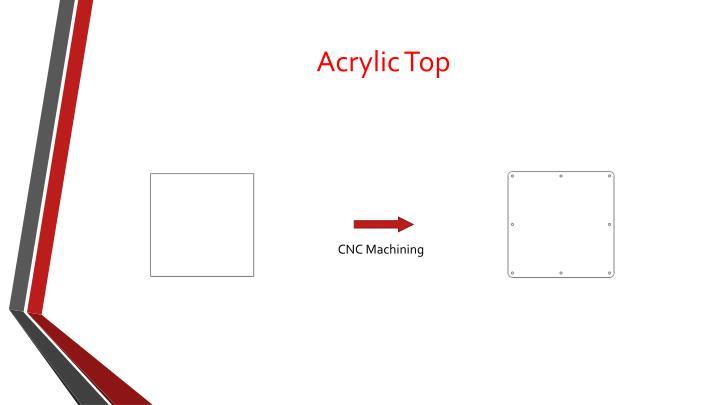 Acrylic Top