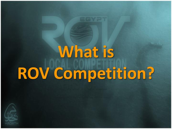 What is rov competition