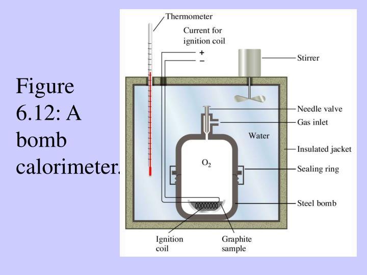 Figure 6.12: A bomb calorimeter.