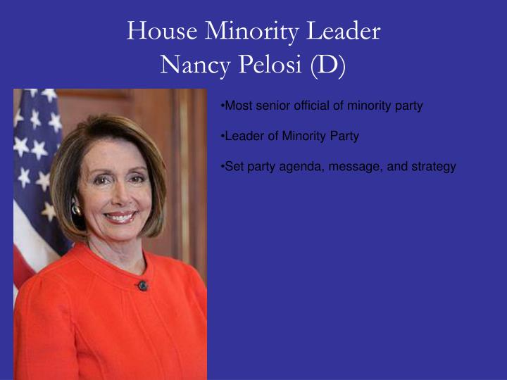 House Minority Leader