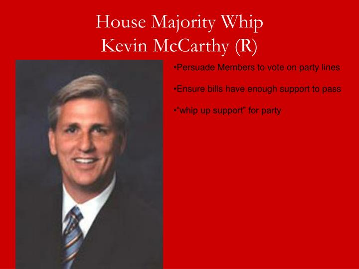 House Majority Whip