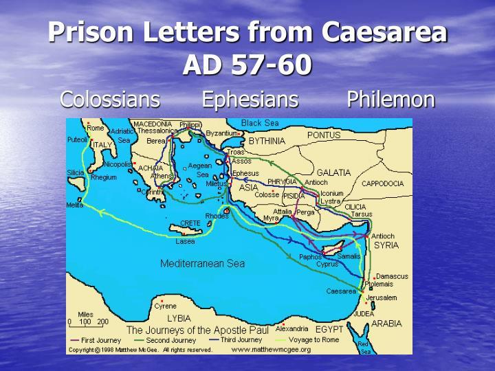 Prison Letters from Caesarea