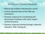 electronic control module
