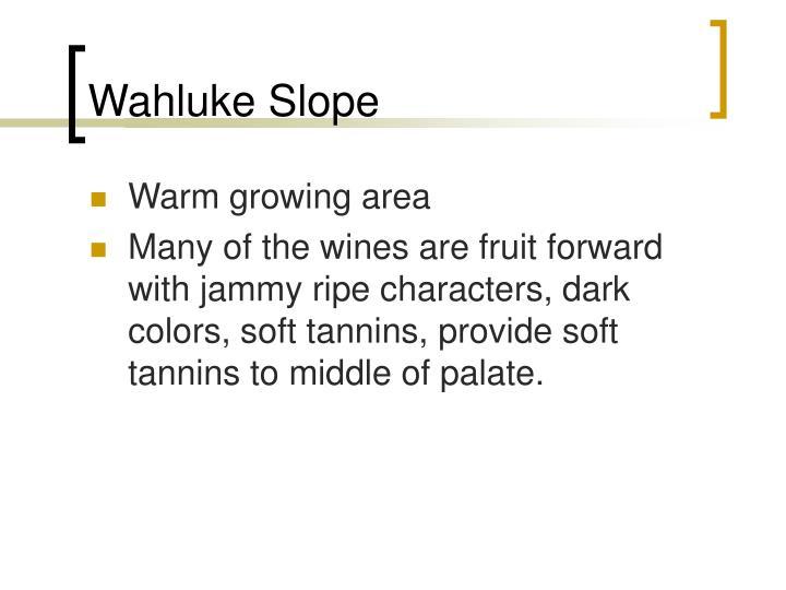 Wahluke Slope