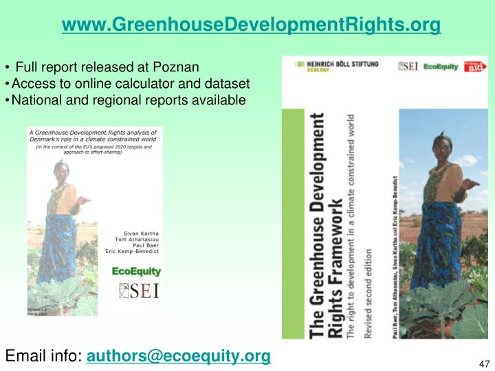 www.GreenhouseDevelopmentRights.org