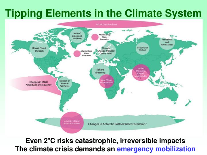 Tipping Elements in the Climate System