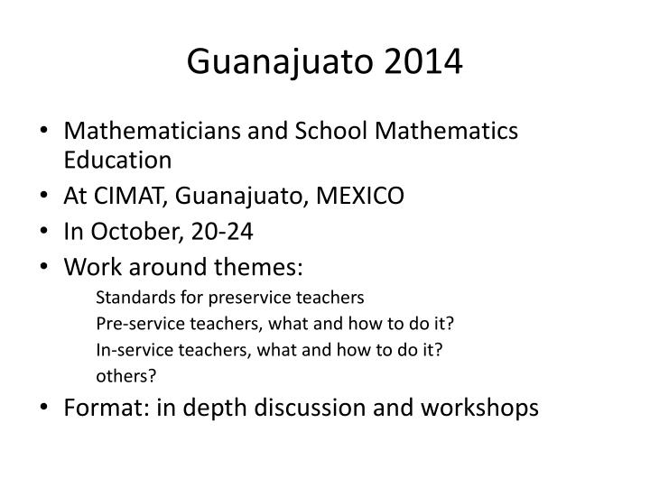 Guanajuato 2014