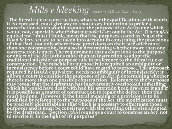 Mills v