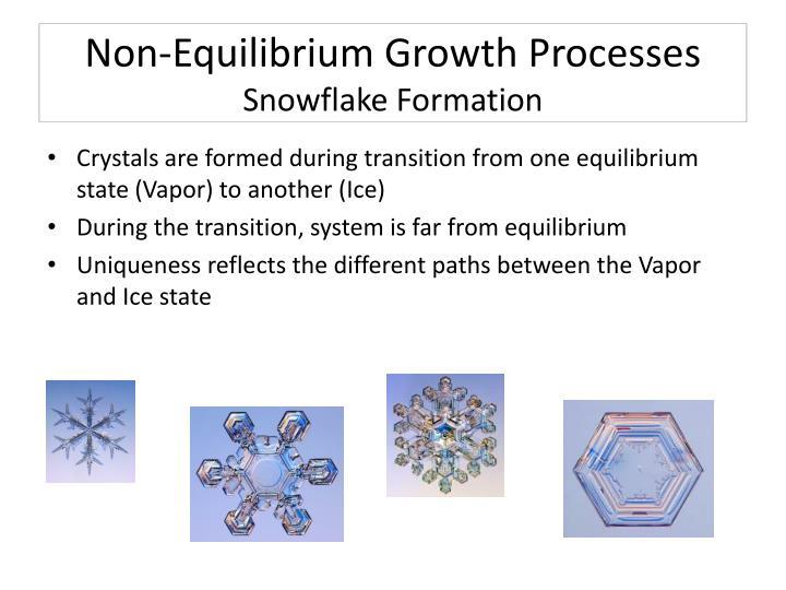 Non-Equilibrium Growth Processes