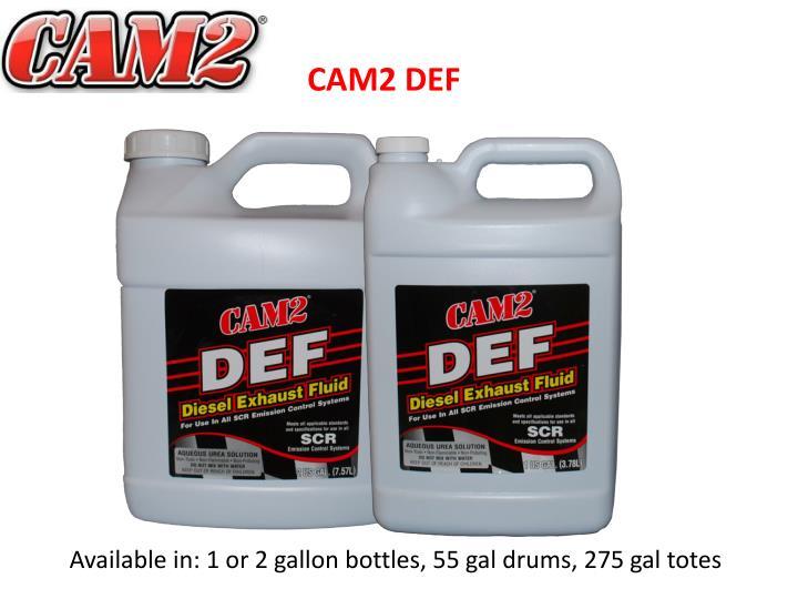 CAM2 DEF