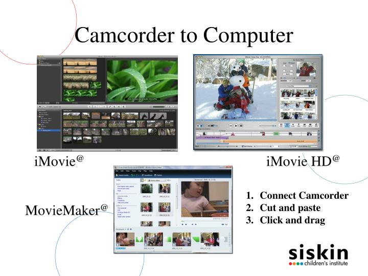 Camcorder to Computer
