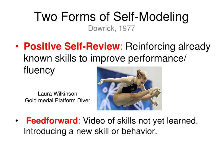 Two Forms of Self-Modeling