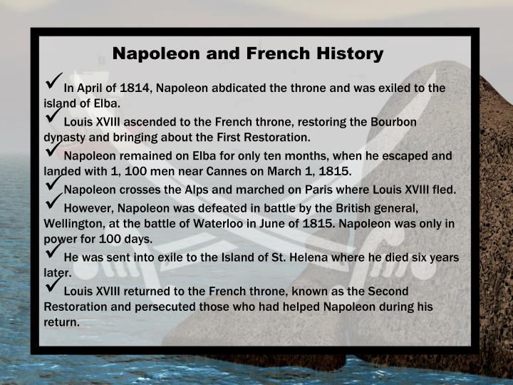 Napoleon and French History