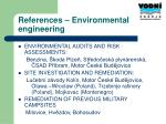 references environmental engineering