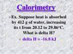 calorimetry5